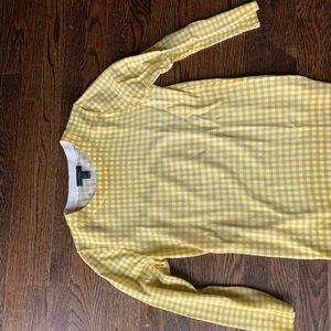 Jcrew woman's gingham wool sweater
